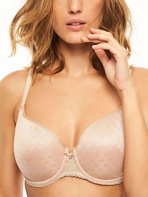 48ee9c165 Courcelles Convertible Lightweight Spacer Underwire Bra in Ultra Nude ...