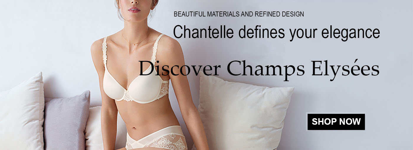 Chantelle Champs Elysees Bras and Intimate Apparel