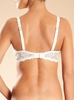 Chantelle Champs Elysées Smooth Convertible Underwire T-Shirt Bra in ivory - back view