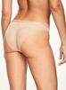 Chantelle Courcelles Cheeky Bikini Panty, Back View in Black in Ultra Nude