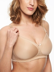 Chantelle Merci Mastectomy Wireless Bra with Pocket for Prosthesis in Perfect Nude