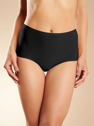 Chantelle Soft Stretch Seamless Full Brief Panty in Black
