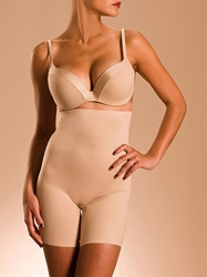 Basic Shaping High Waist Long Leg Shaper in Ultra Nude