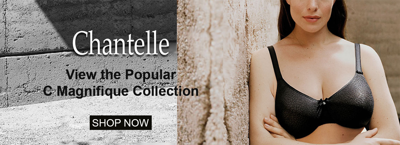 Chantelle C Magnifique Popular Underwire and Wire Free Bras