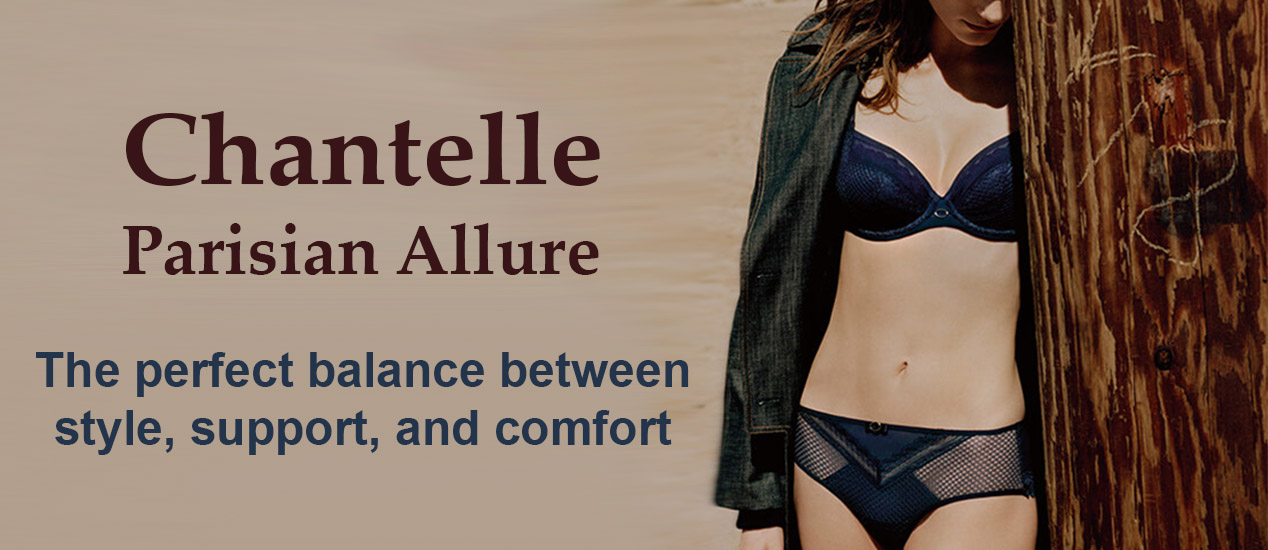 Chantelle Parisian Allure Collection Bras and Panties