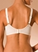 Amazone Soft Cup Bra, back veiw in Ivory