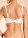 Champs Elysées Full Coverage Underwire Bra in ivory - back view