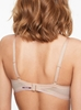 Absolute Invisible Smooth Contour Wireless Bra in Nude Blush, Back View