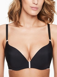Chantelle Absolute Invisible Push-Up Bra in Black