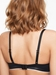 Absolute Invisible Smooth Soft Contour Bra in Black, Back View