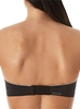 Chantelle Absolute Invisible Strapless Bra in Black, Back View Strapless