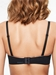 Chantelle Absolute Invisible Strapless Bra in Black, Back View with Straps