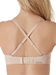 Chantelle Absolute Invisible Strapless Bra in Nude Blush, Back View with Crisscross Straps