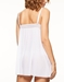 Chantelle Blanche Lace Chemise in White, Back View