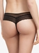 Chantelle Blanche Lace Tanga in Black, Back View