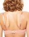 Chantelle Blanche Lightweight Lace Bra in Peach, Back View