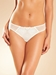 Chantelle Champs Elysées Lace Thong Panty in ivory