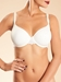 Chantelle Champs Elysées Smooth Convertible Underwire T-Shirt Bra in ivory
