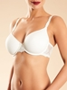 Chantelle Champs Elysées Smooth Convertible Underwire T-Shirt Bra in ivory - alternate front view