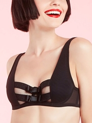 Chantelle Chantal Thomass Audacieuse Contour Underwire Bra in Black