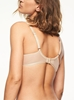 Courcelles Convertible Lace Plunge Underwire Bra, back in Ultra Nude