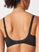 Chantelle Every Curve Full Coverage Wireless Bra in Black, Back View