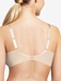 Chantelle Every Curve Full Coverage Wireless Bra in Nude Blush Multicolor, Back View