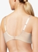 Chantelle Every Curve Lace Full Demi Bra in Nude Blush Multicolor, Back View