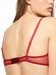 Chantelle Passionata Fall In Love Plunge Bra in Passion Red, Back View