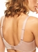 Hedona Seamless Underwire Bra in Nude Nutmeg, Back View