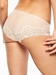 Chantelle Orangerie Hipster Panty in Skin Rose, Back View