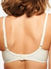 Chantelle Orangerie Lace Plunge Underwire Bra in Ivory, Back View
