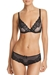 Chantelle Orangerie Lace Plunge Underwire Bra and Bikini in Black