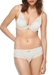 Chantelle Orangerie Lace Plunge Underwire Bra and Bikini in Ivory