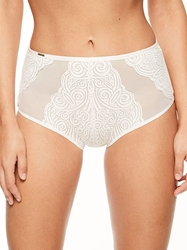 Pyramide Full Lace Brief in Talc