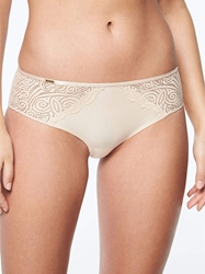 Chantelle Pyramide Lace Hipster in Nude Blush