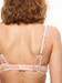 Chantelle Segur Lace Push-Up Underwire Bra in Opale Back View