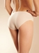 Chantelle Soft Stretch Low-Rise Bikini Panty in Ultra Nude - back view