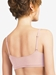 SoftStretch Scoop Padded Bralette in Blushing Pink, Back View