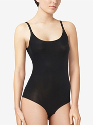 Chantelle Softstretch Bodysuit with Leg Opening in Black