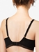 Chantelle Spirit Lace Wire Free Bra in Black, Back View