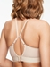 Chantelle Studio Comfort Smooth Contour Wireless Bra in Ultra Nude, J-Hook Back View