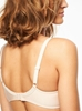 Chantelle Orangerie Smooth T-Shirt Underwire Bra in Skin Rose, Back View