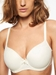 Chantelle Orangerie Smooth T-Shirt Underwire Bra in Ivory