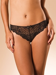 Rive Gauche Tanga in Black