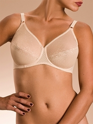Tamaris Seamless Underwire Bra in Nude Cream